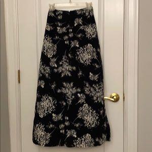 Banana Republic Skirts - Banana republic black maxi skirt